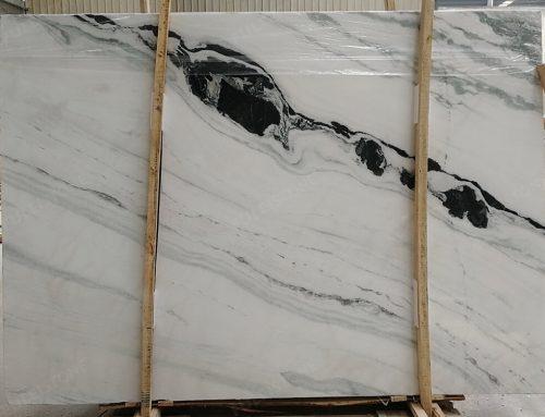 Inventory No.HNG235, 1.8cm, Panda White Marble Slab