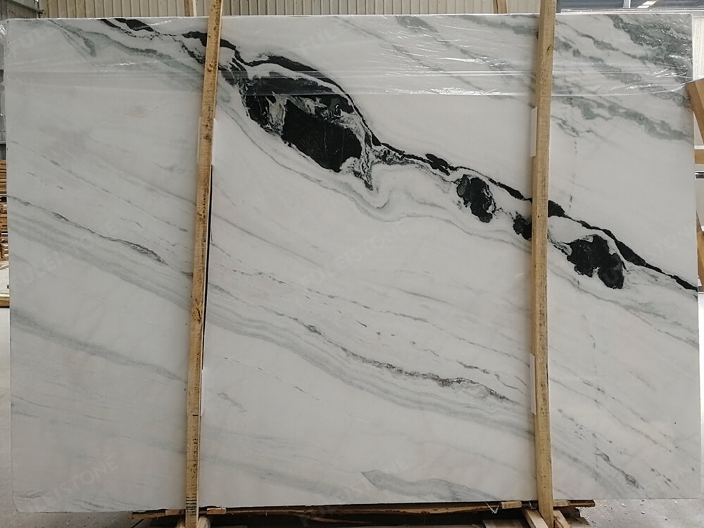 Inventory No. HNG235 1.8cm Panda White Marble Slab