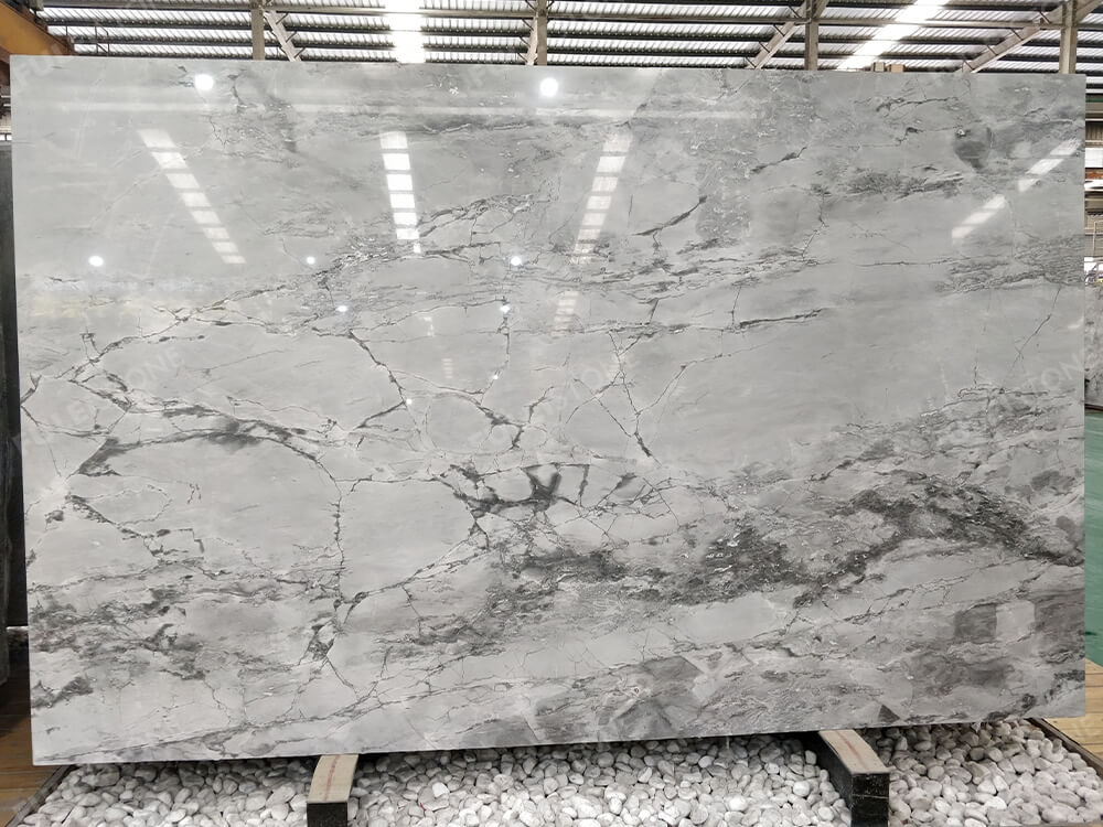 Inventory No.NHFWY180317 Super White Quartzite Slab