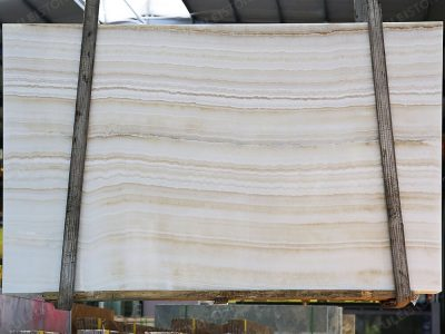 Inventory No.OHNJ-135 Ivory Onyx Slabs