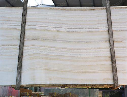 Inventory No.OHNJ-135, 1.8cm, Ivory Onyx Slabs