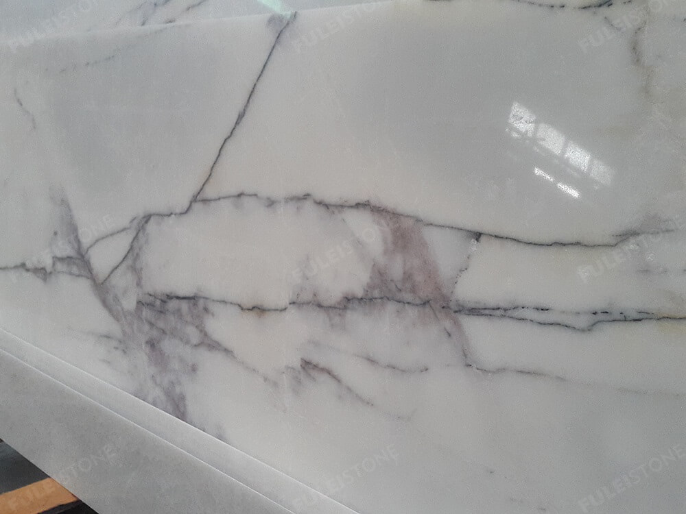 Milas Lilac Marble Surface