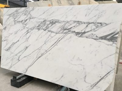 NO. AND-1611 1.8cm Inventory of Statuario Marble Slab