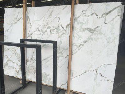 Namibia White Marble Slab Polished