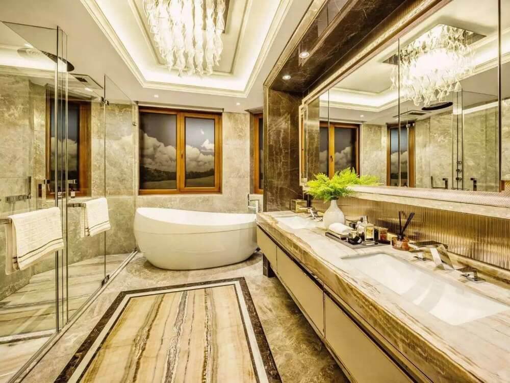 Onice Grigio Onyx Onyx Bathroom