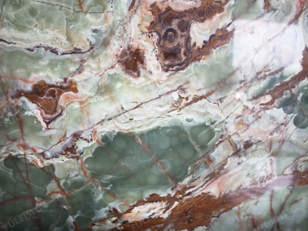 Onice Verde Afgano Surface