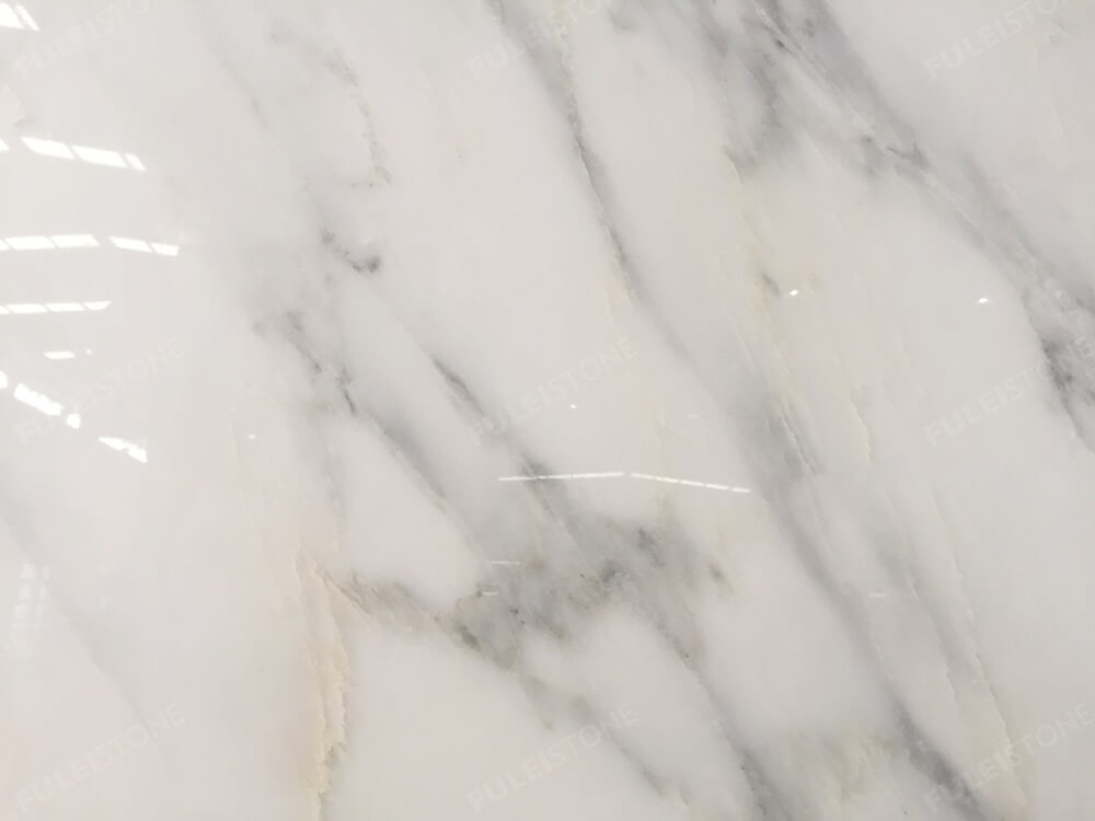 Oriental White Marble Details