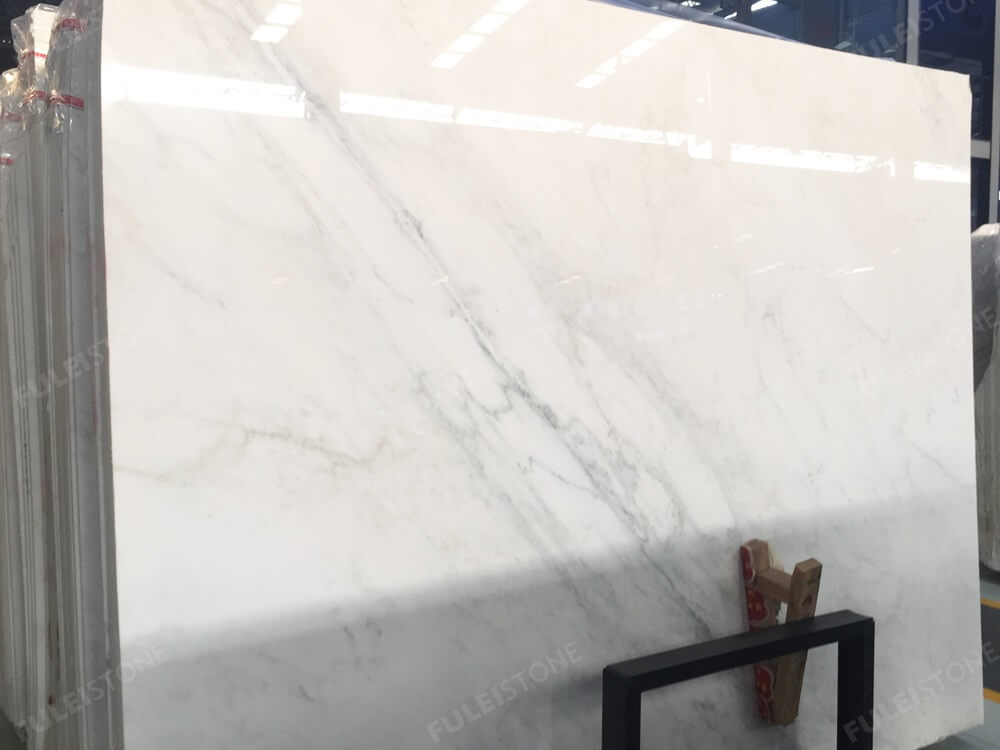 Oriental White Marble Slab Polished