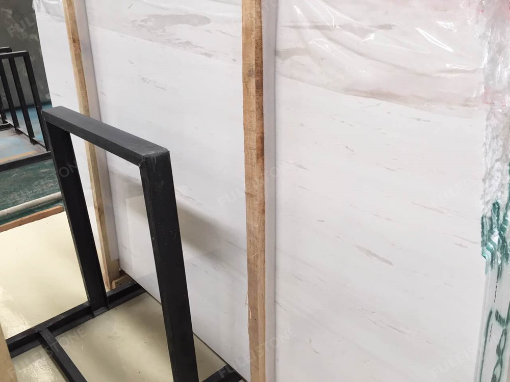 Polar White Marble Slab