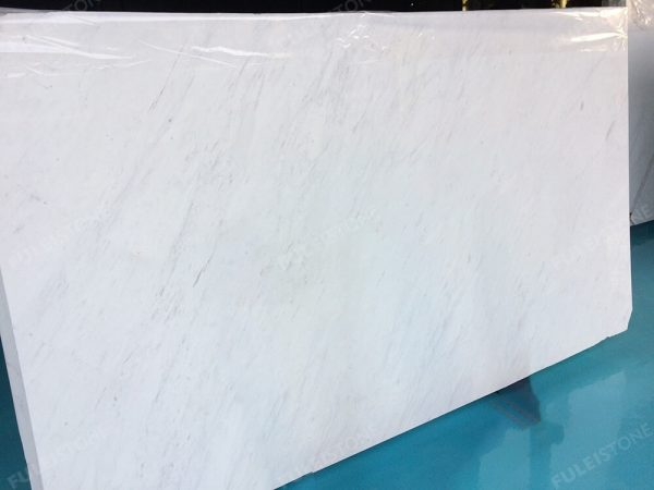 Polished Ariston White Marble Slabs