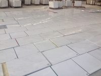 Polished Ariston White Marble Tiles