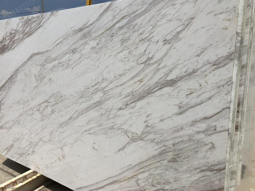 Polished Volakas White Marble Slabs