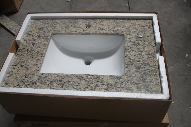 Prefab Countertop and splash with sink crate packing (1)