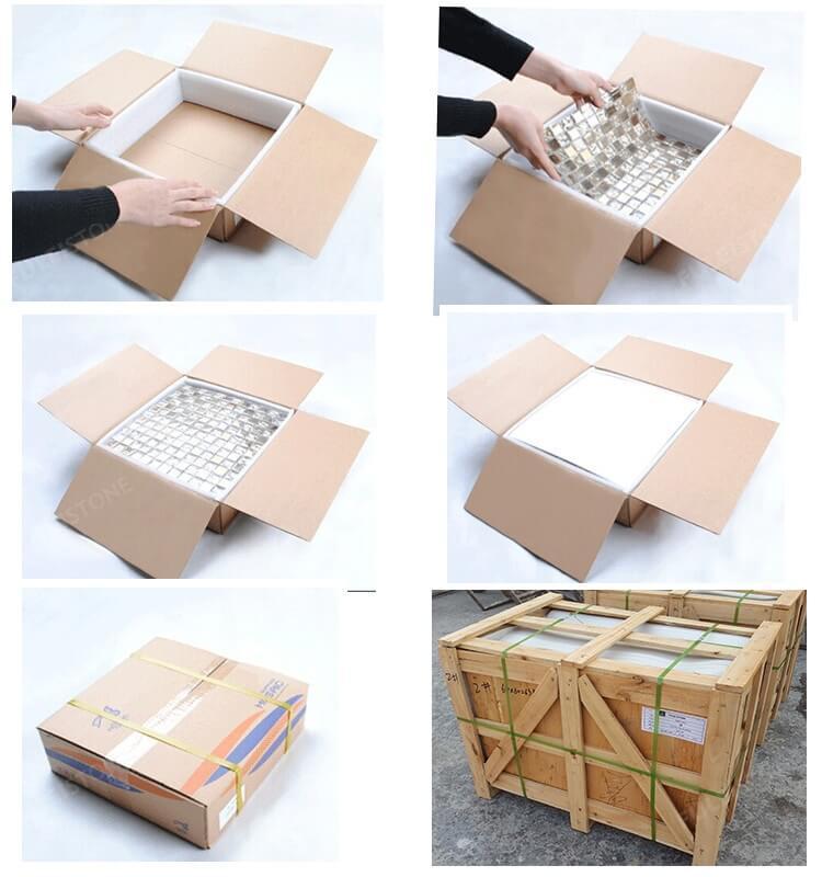 Stone Mosaic Tile packing