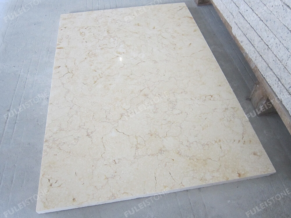 Sunny Beige Marble Flooring Tiles