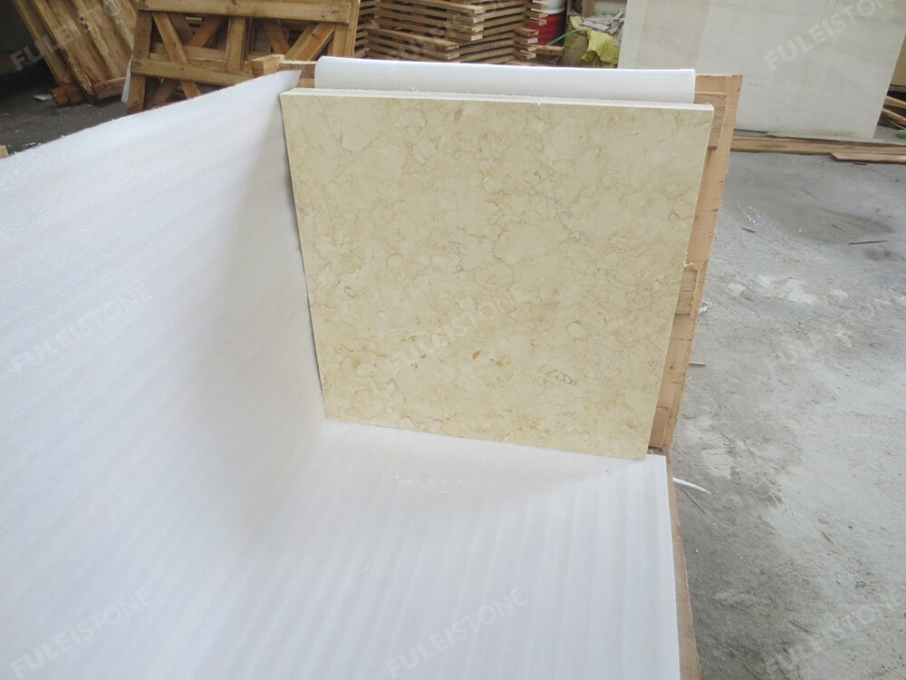 Sunny Beige Marble Tiles Package