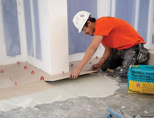 How to Install Granite or Marble Floor Tiles