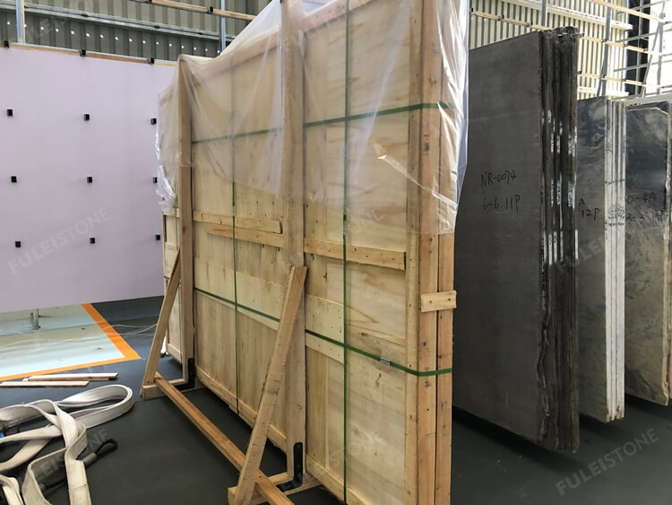 Wooden Packing of Single Slab