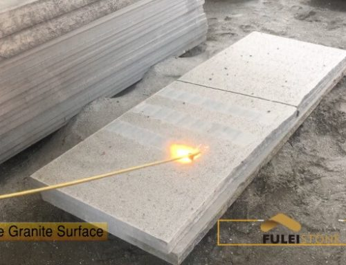 How to Make the Flamed Granite Tile