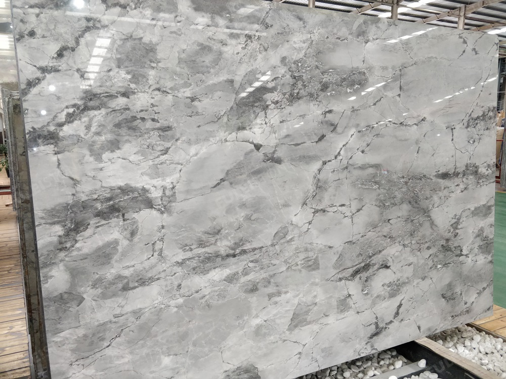 natural quartzite super white marble