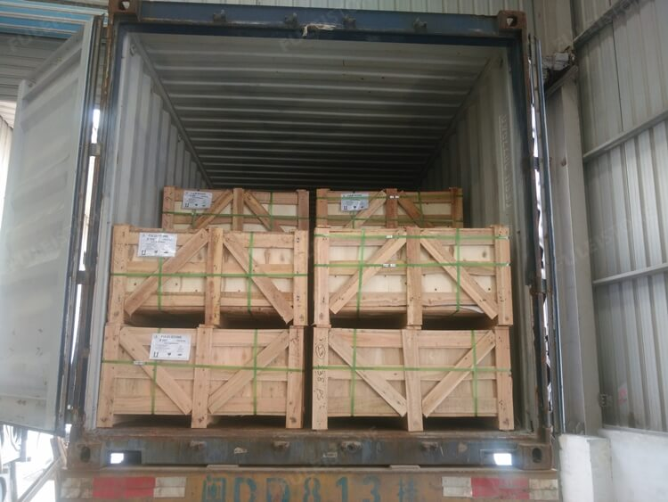 tiles loading container