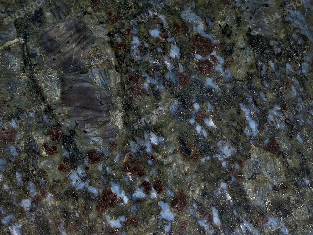 Butterfly Blue Granite Surface