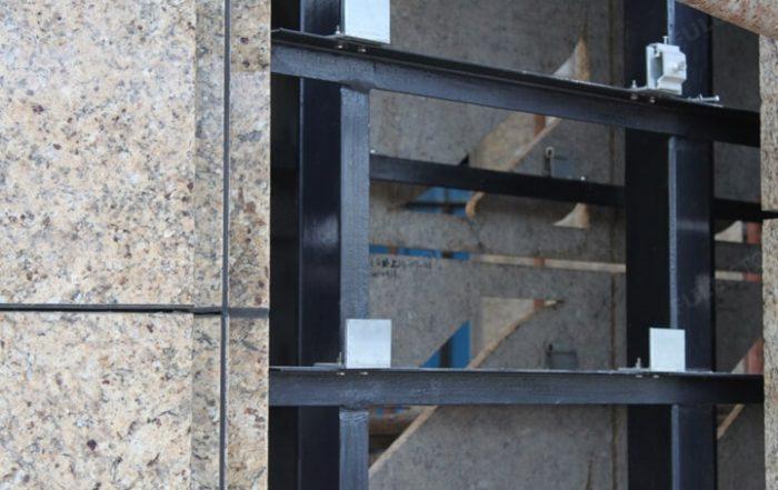 Dry Granite Stone Cladding Systems