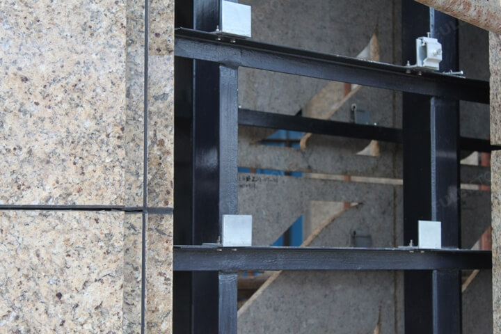 Dry Granite Stone Cladding Systems