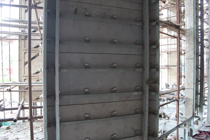 Steel structure control