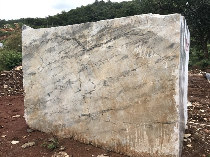 stone blocks in quarry