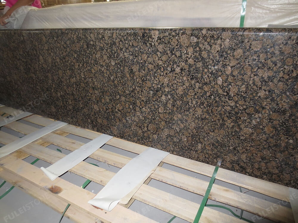 Baltic Brown Granite Countertop Packing