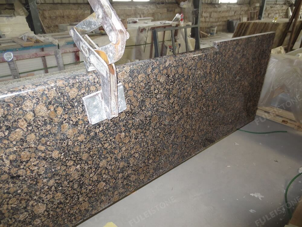 Baltic Brown Granite Countertop Texture