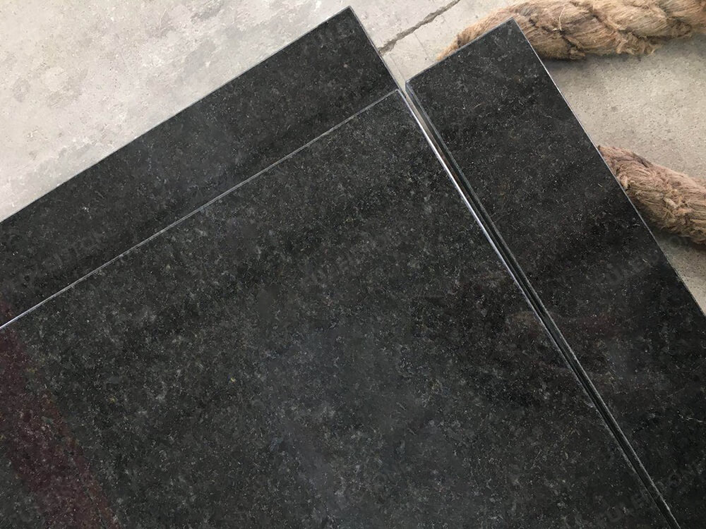 Black Pearl Granite Countertops Texture