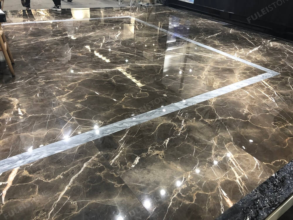 Brown Marble Floor Tiles