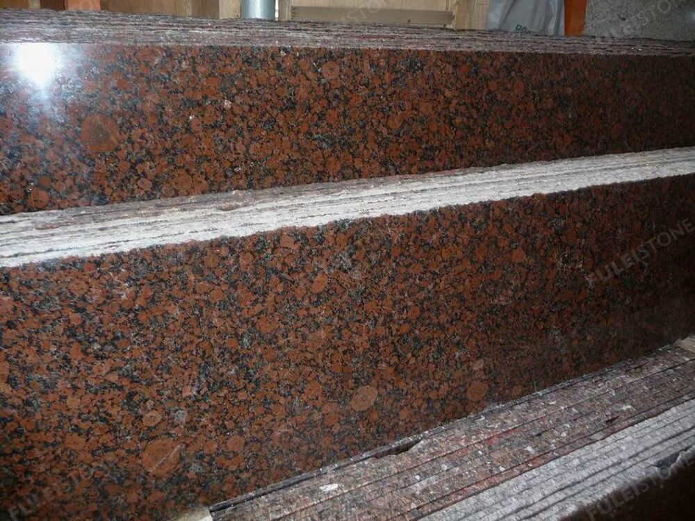 Carmen Red Granite Half Slab