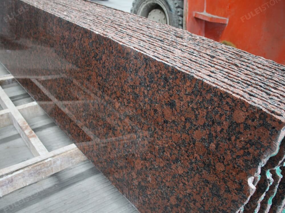 Carmen Red Granite Polished Half Slab