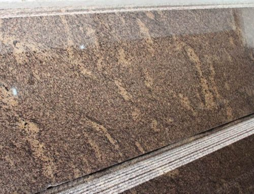 Giallo California Granite Slab