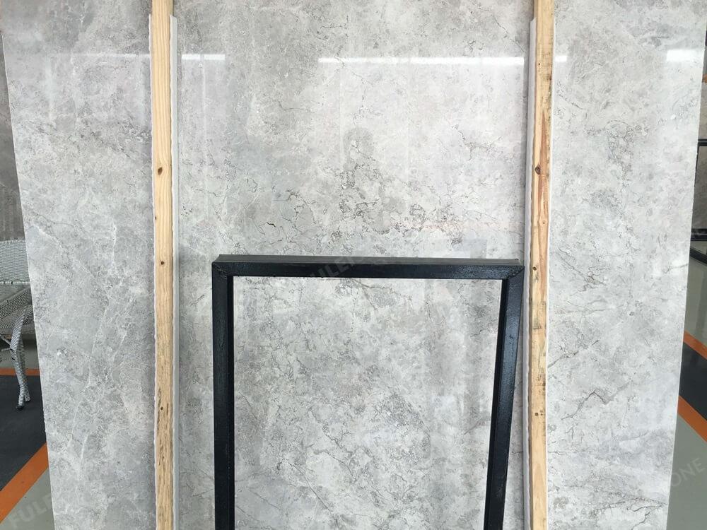 Tundra Grey Marble Slab