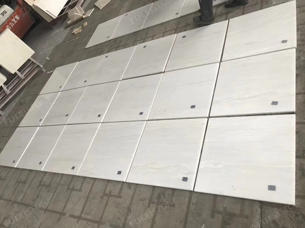Bianco Rhino Marble Tiles
