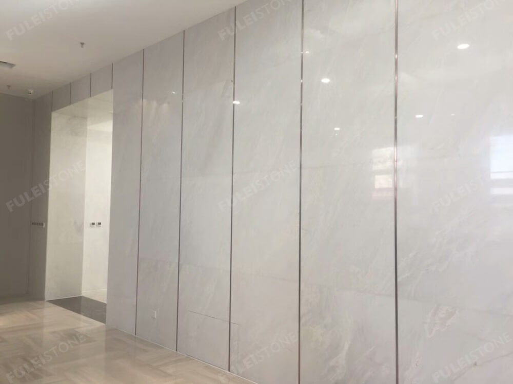 Bianco Rhino Marble for Wall
