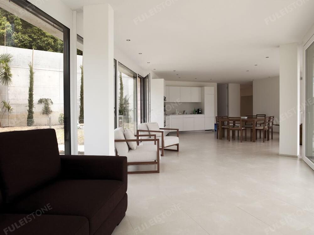 Burdur Beige Marble Flooring Tiles