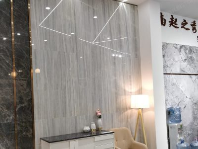 Ice wood marble for wall
