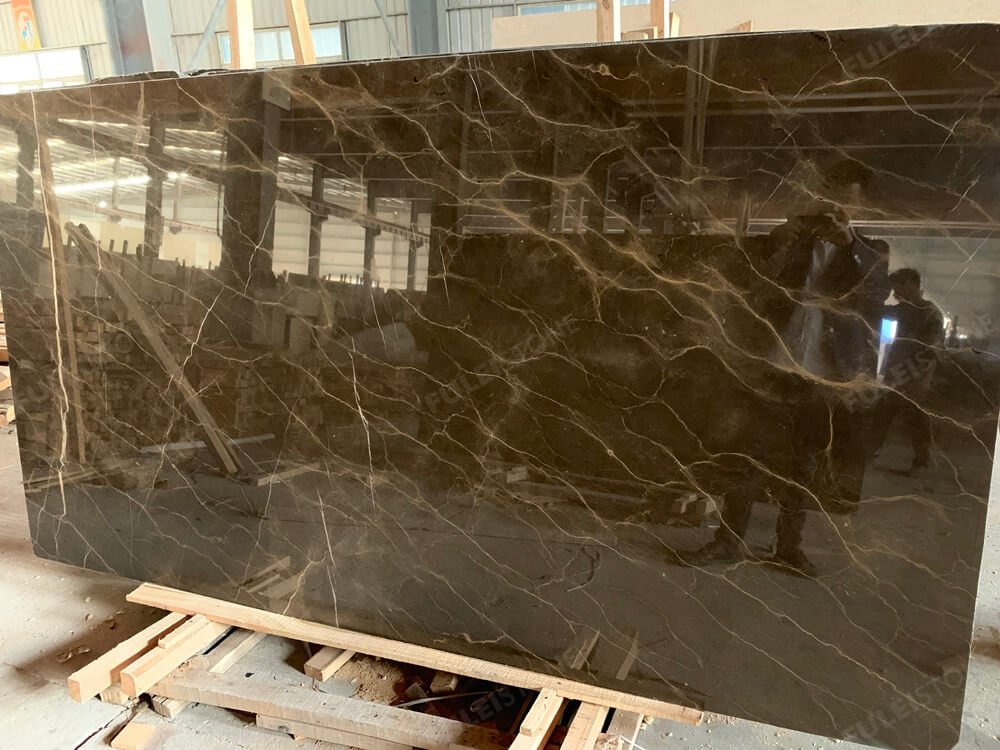 Instock Polished Emperador Gold Marble Slabs