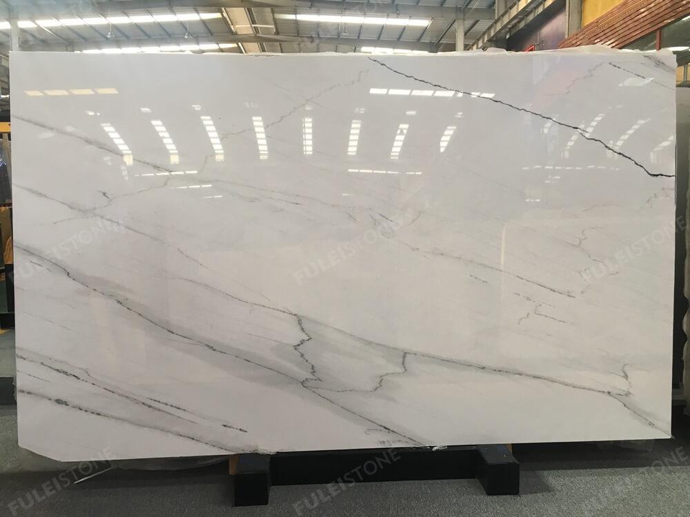 Lincoln Calacatta Marble Slab