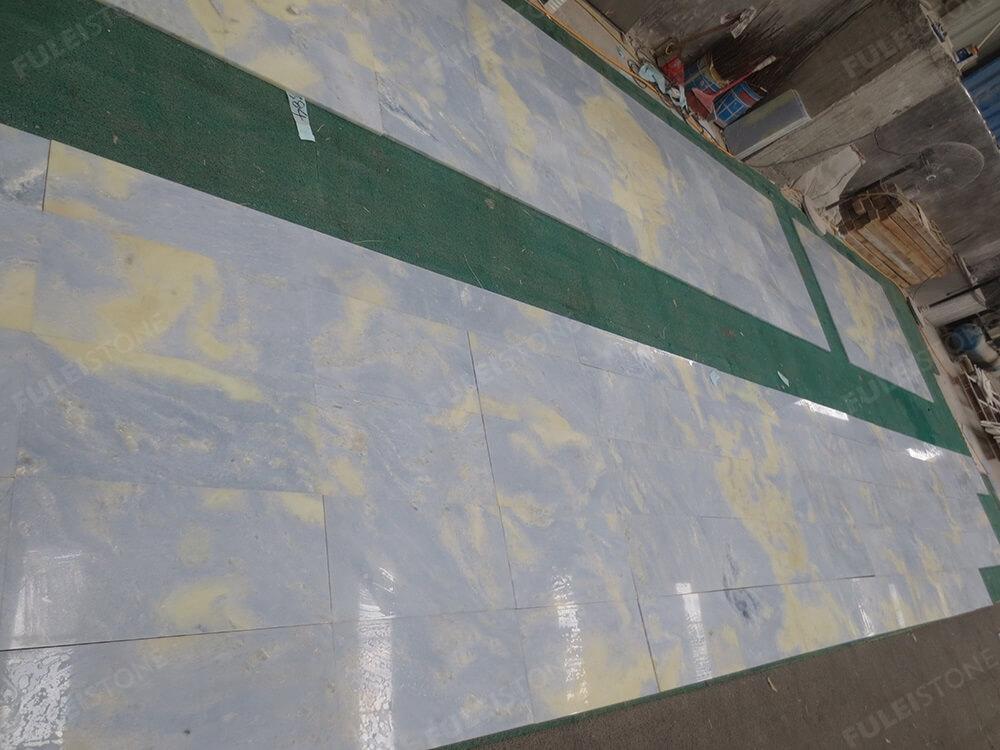 Lumen Blue Marble Onyx Tile