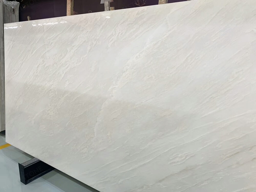 Polished Royal White Marble