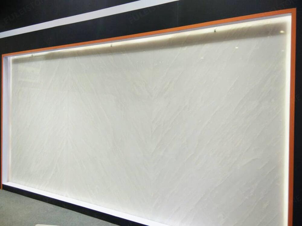 Royal White Marble Background
