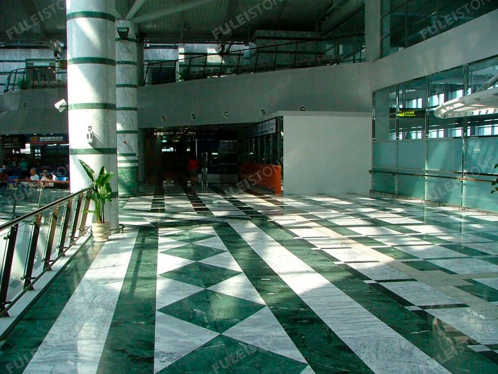 Verde Guatemala Marble Flooring Tiles
