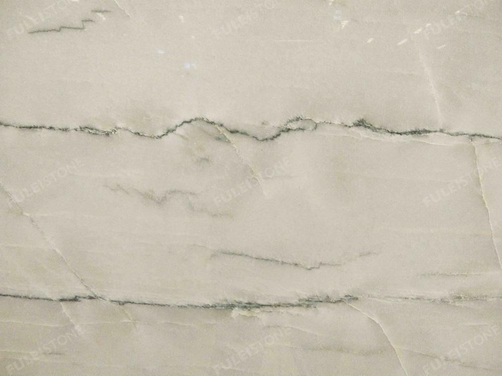 White Macaubas Quartzite Texture