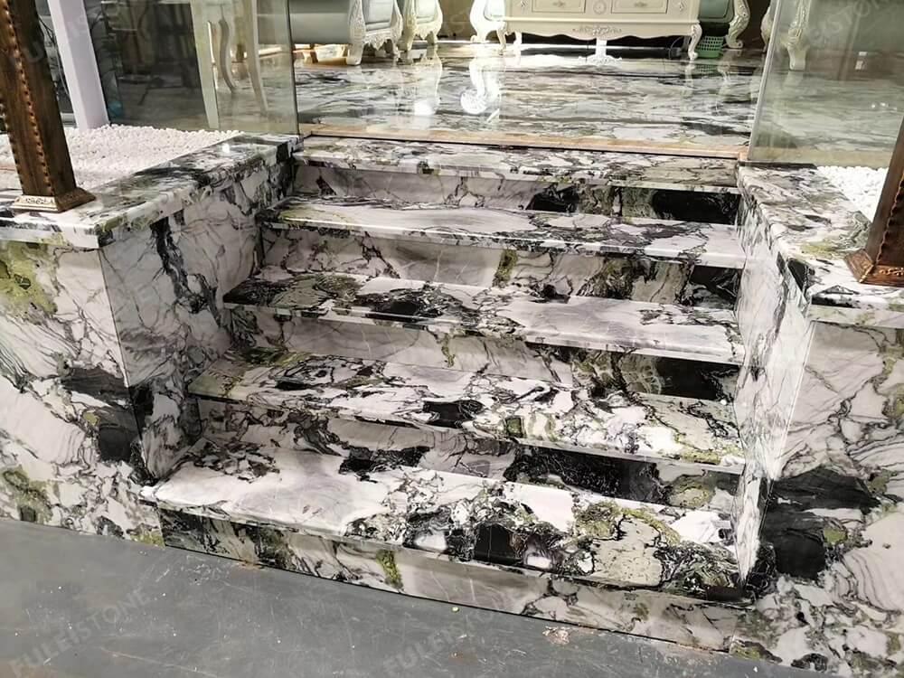 Amazonia Marble Staircase